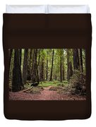 On The Enchanted Path Duvet Cover