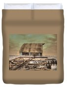 On The Farm Duvet Cover by Jane Linders