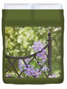 On The Fence Duvet Cover