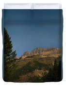 On The Going To The Sun Road  Duvet Cover