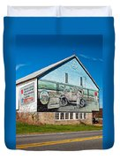 On The Lincoln Highway Duvet Cover