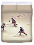 On The Offense Duvet Cover