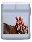 On The Ranch Duvet Cover