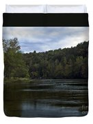 On The River Three Duvet Cover