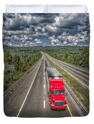 On The Road Again E61 Duvet Cover