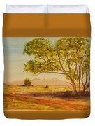 On The Road To Broken Hill Nsw Australia Duvet Cover