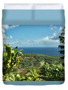 on the road to Hana Duvet Cover