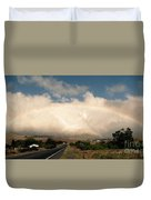 On The Road To Hilo Duvet Cover