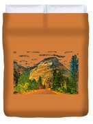 On The Road To Zion Duvet Cover