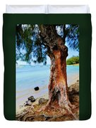 On The Shore 1. Mauritius Duvet Cover