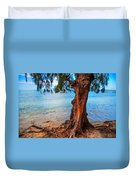 On The Shore. Mauritius Duvet Cover