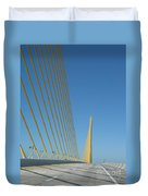 On The Sky Way Brigde  Duvet Cover