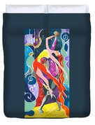 On The Stage - Onegin In My Eyes Duvet Cover