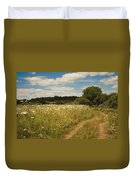 On The Summer Meadow II. Russia Duvet Cover