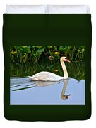 On The Swanny River Duvet Cover