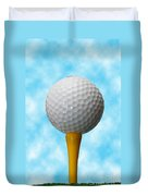 On The Tee Duvet Cover
