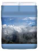 On The Top Of The World... Duvet Cover