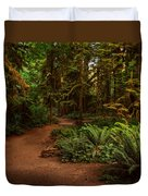 On The Trail To .... Duvet Cover
