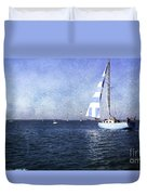 On The Water 3 - Venice Duvet Cover