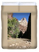 On The Way To The Narrows Duvet Cover