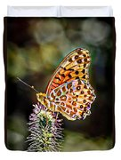On The Wings Of A Butterfly... Duvet Cover