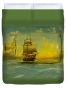 Once In A Bottle Duvet Cover by Jeff Burgess