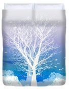 Once Upon A Moon Lit Night... Duvet Cover