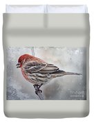 Once Upon A Winters Day Duvet Cover