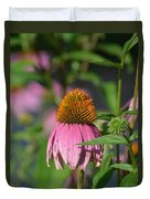One Among The Coneflowers Duvet Cover