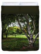 One Autumn Day - Central Park - Nyc Duvet Cover