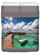One Day At Heaven Duvet Cover