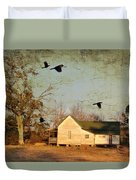 One Day It Will Be Gone Duvet Cover