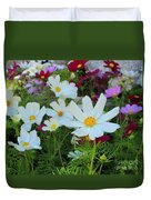 One Flower Stands Out Duvet Cover