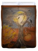 One Hallowed Eve Duvet Cover