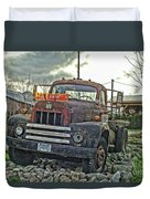 One Headlight International Duvet Cover