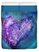 One Heart One Earth Duvet Cover