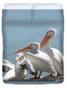 One In Every Crowd Duvet Cover