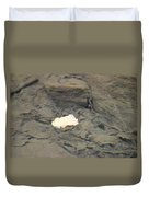 One Leaf Flowing Downstream Duvet Cover