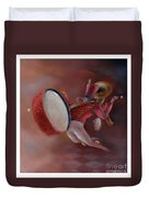 One Man Band Duvet Cover