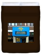 One Of Ten Great Streets In America Duvet Cover