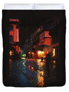 One Of These Nights Duvet Cover