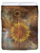 One Ring To Rule Them All - Square Version Duvet Cover
