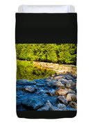 One River - Three Flows Duvet Cover