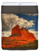 One Sedona Sunset Duvet Cover