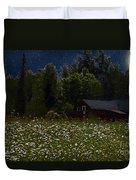 One Starry Summer Night Duvet Cover