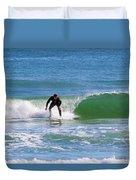 One Surfer Duvet Cover
