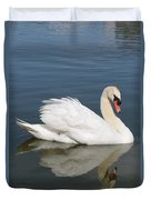 One Swan Duvet Cover