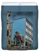 One Wall One Artist Duvet Cover
