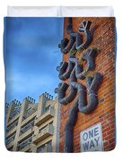 One Way To A Wrong Turn Duvet Cover