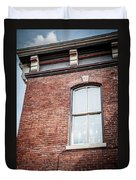 One Window In Color Duvet Cover